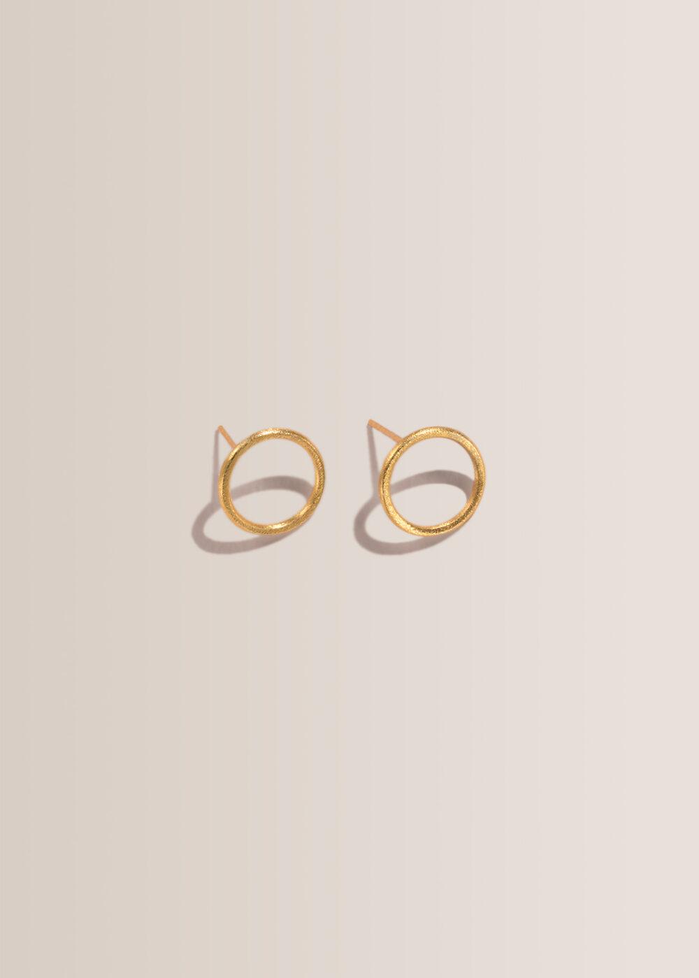 Alexia-Kreise-Ohrringe-gold-klein