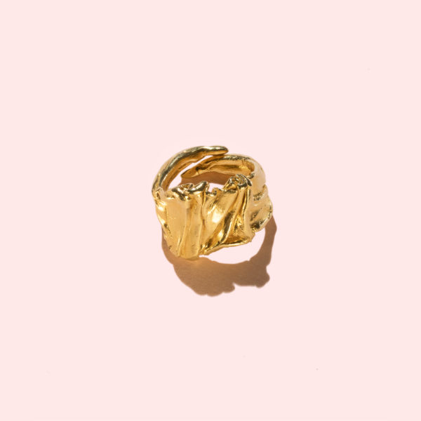Athena-Luxus-Designerring-Silber925-24K-Gold