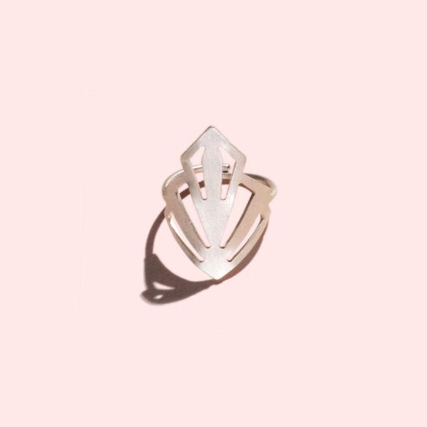 amari-Ring-silber-Artdeco-verstellbar