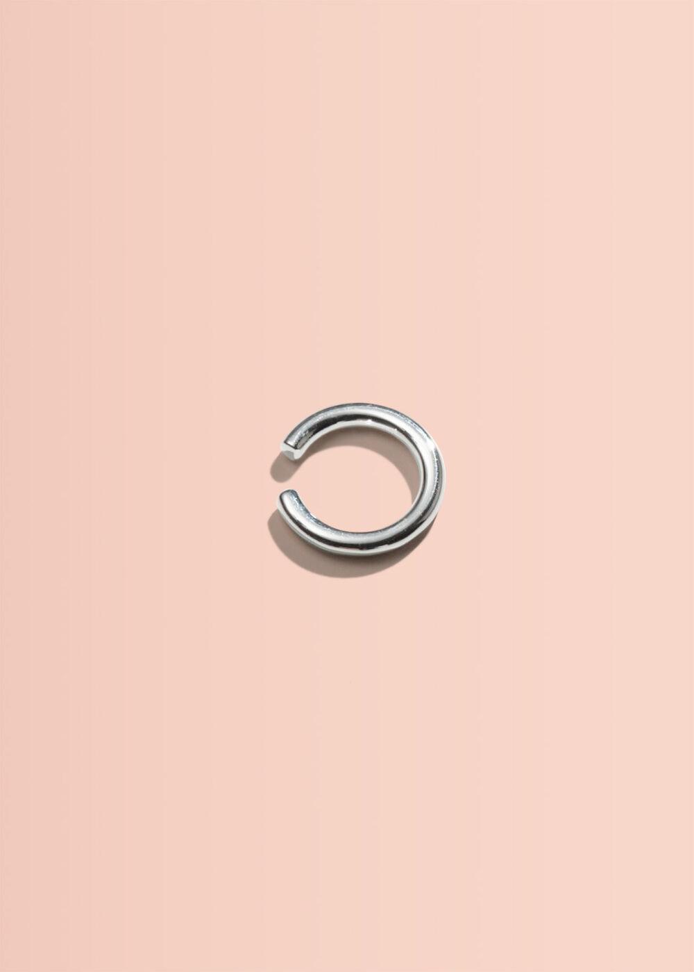 Remi-Earcuff-ring-silber-glaenzend