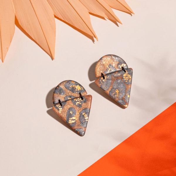 Ohrringe-Kiki-Polymer-Clay-Leopard-gold
