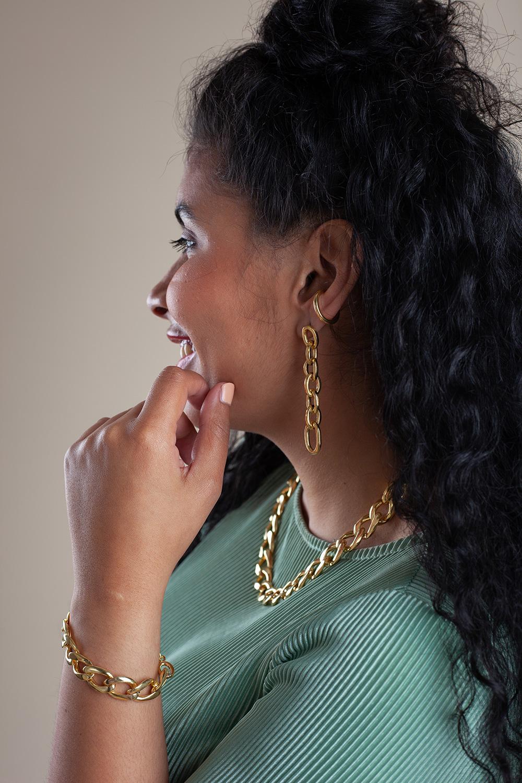 Armband-Ohrringe-Athena-gold