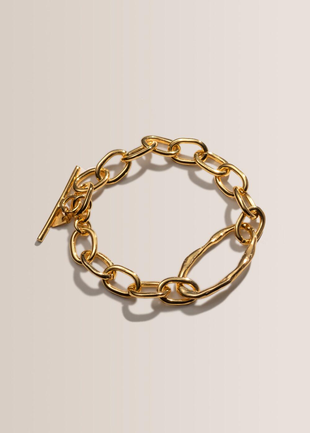 Nika-Gliederarmband-ketten-groß-gold-24k