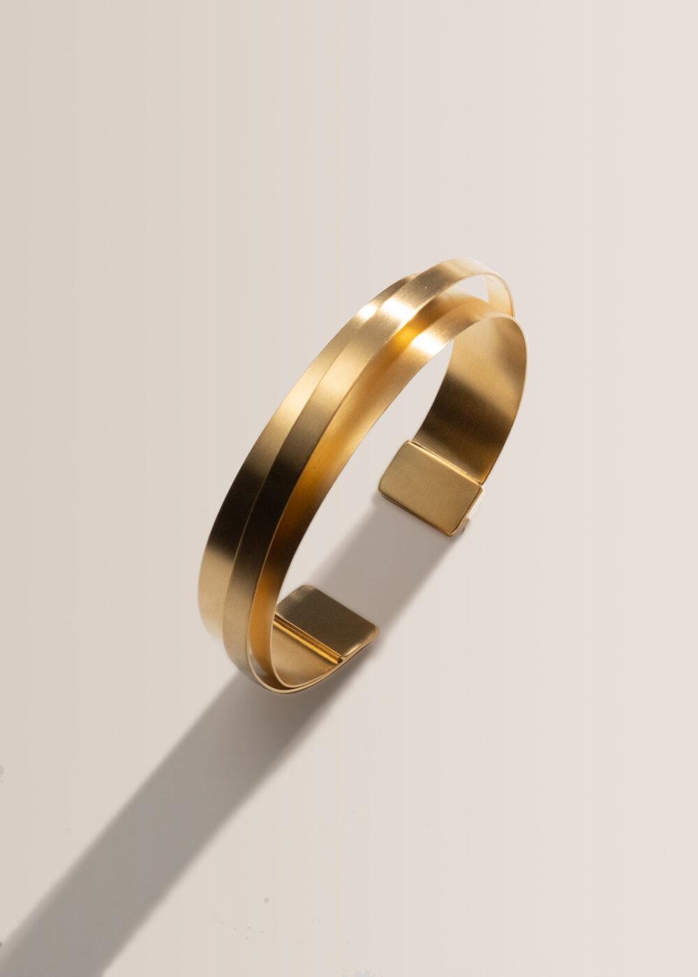 Olympia-armreif-m-klein-gold-matt