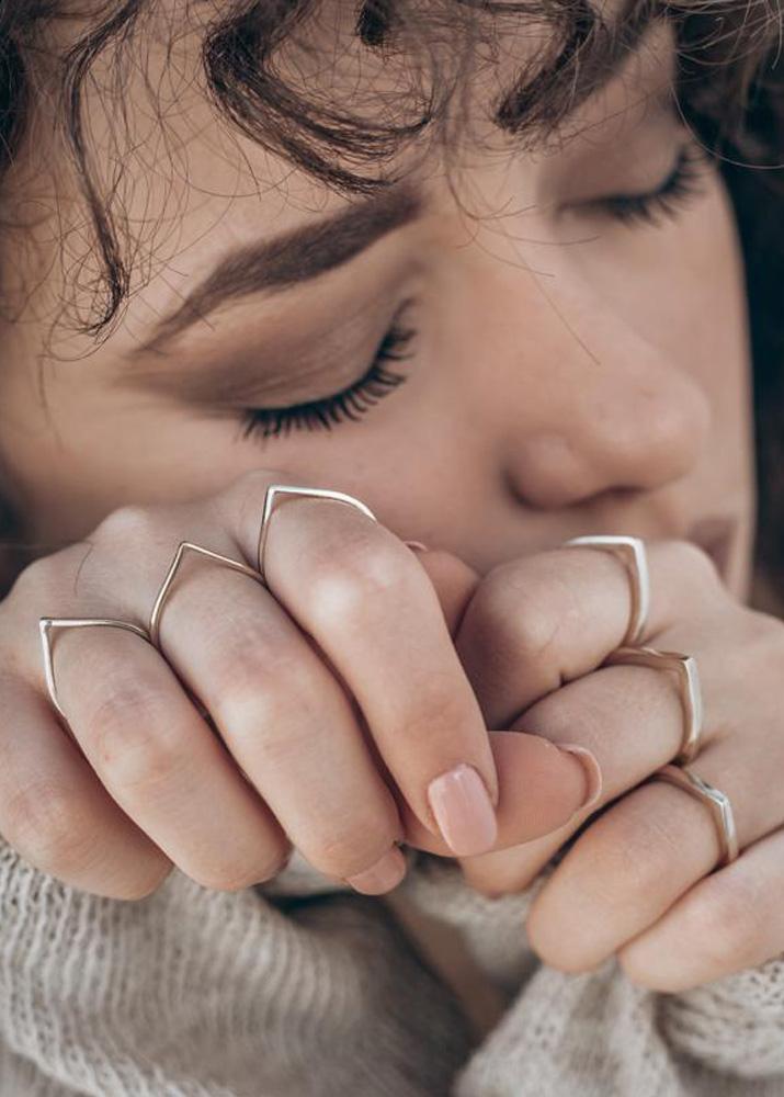 Ring-Kim-Tropfen-silber